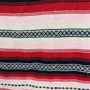 Bedding - Mexican inspired woven throw blanket